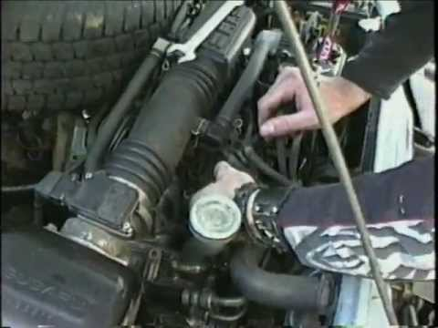 2003 Jaguar X Type Wiring Diagram Subaru Gl Changing The Coolant Temperature Sensor Youtube
