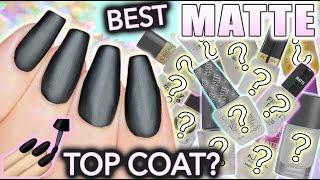 Best MATTE top coat for nails?!