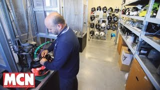 'Rossi's helmets are made here' | Features | Motorcyclenews