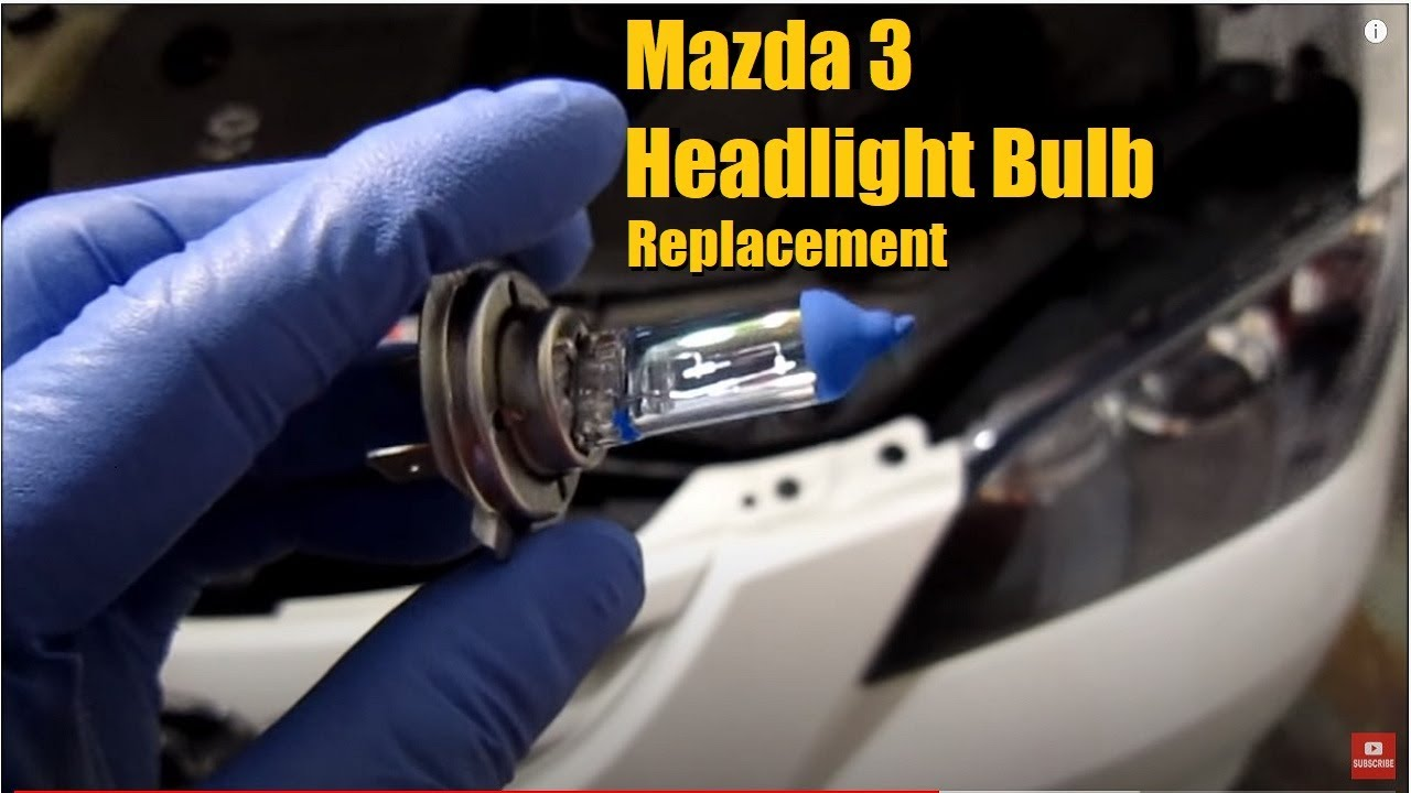 Mazda 3 Light Bulb Replacement