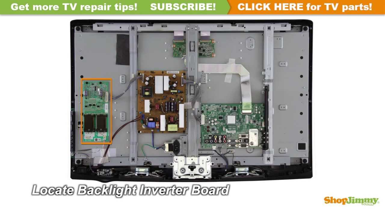 hight resolution of lcd tv parts diagram