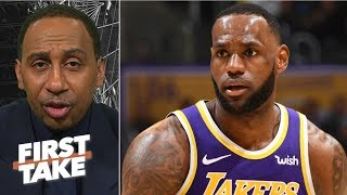 Michael Jordan's assassin mentality means LeBron-MJ debate 'never existed″ - Stephen A. | First Take
