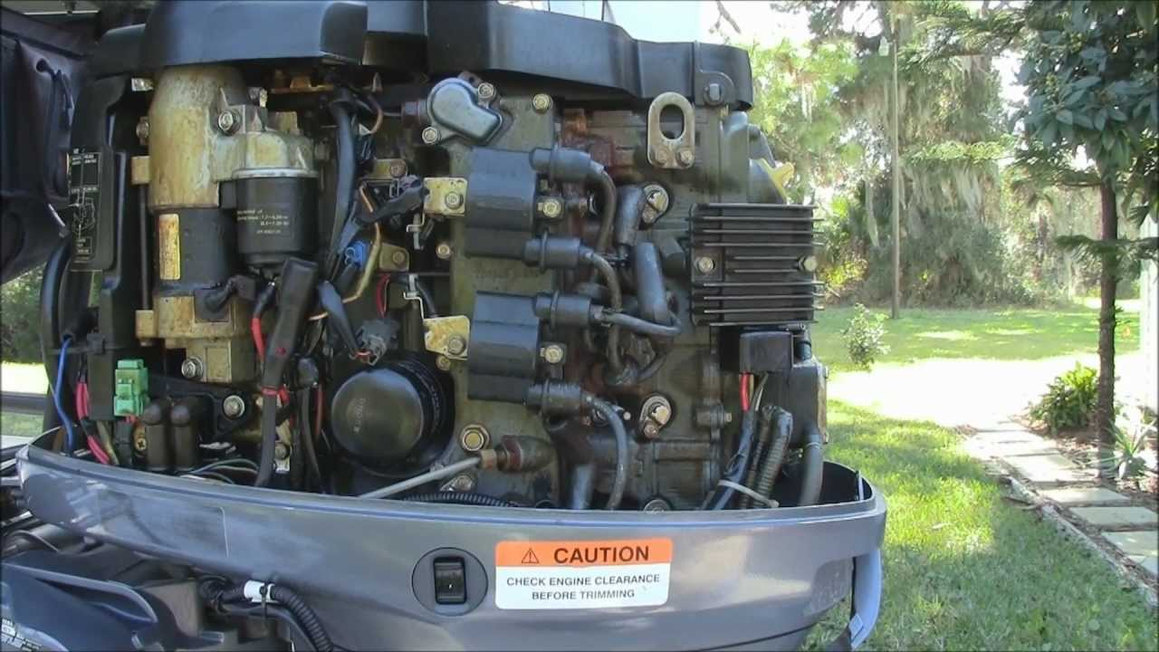 yamaha outboard ignition wiring diagram 06 ford fusion fuse f50 tlr engine maintenance - youtube