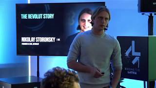 Scale or die trying: case studies | Revolut | Magnetic Latvia Stage @ Techchill