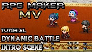 RPG Maker MV Tutorial: Dynamic Battle Intro! (YEP BEC