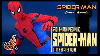 Collectible Spot | Hot Toys Spider-man Homecoming Spider-man Sixth Scale Figure