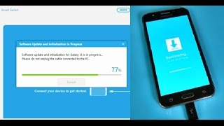Samsung Galaxy J5 J500F - How to update or install stock firmware with Smart Switch