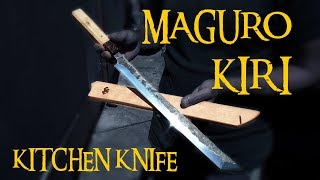 TUNA CUTTING KNIFE! Making Of MAGURO KIRI