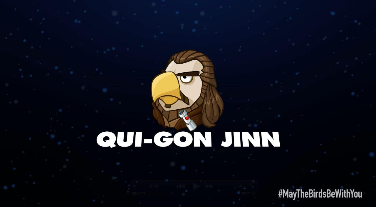 Jinn Star Gon Qui 2 Birds Angry Wars