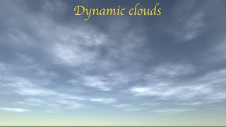 Download Unity3D volumetric clouds shader & custom editor Clip Video