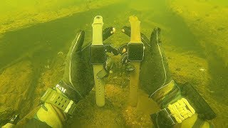 I Found 4 Apple Watches, 5 Phones and a GoPro Underwater in the River! (Scuba Diving)