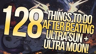 128 Things To Do Post-Story in Pokemon Ultra Sun and Ultra Moon   Austin John Plays