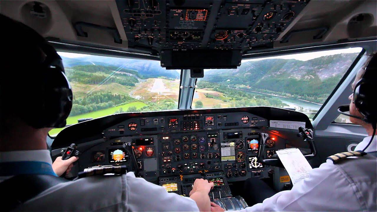 Boeing 777 Wallpaper Hd Hd Dash 8 Stol Landing Cockpit View Youtube