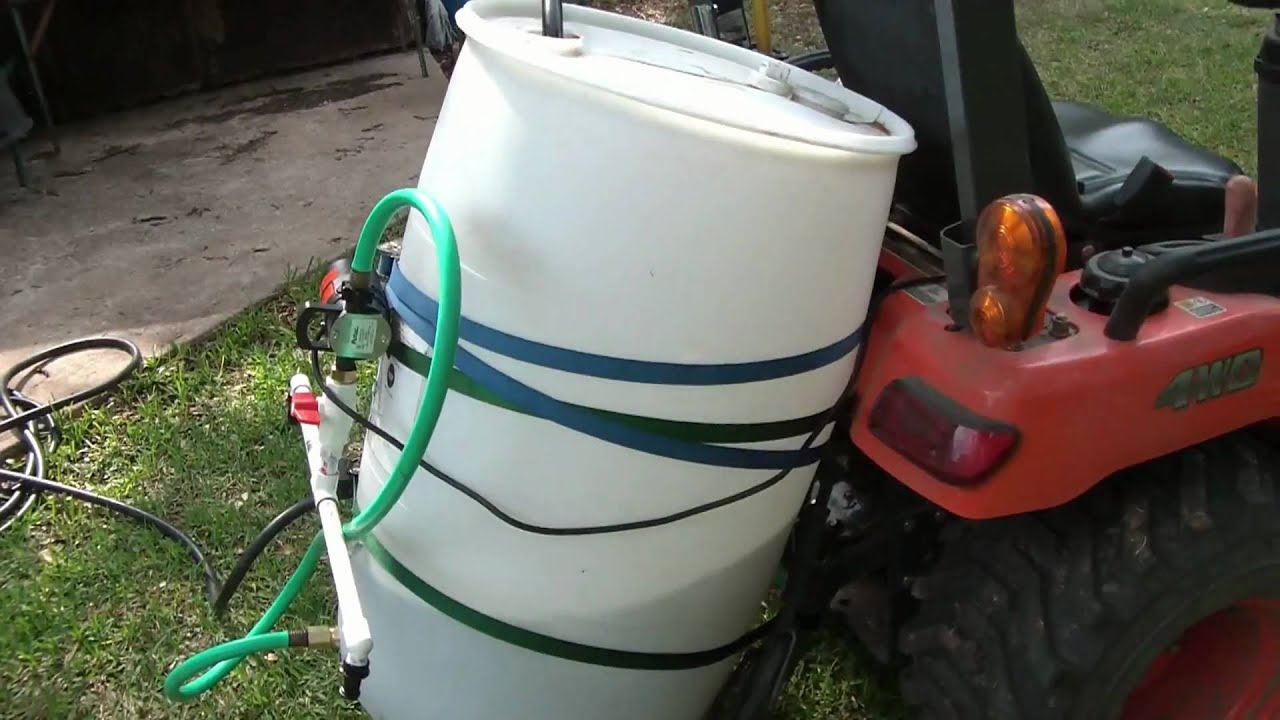 DIY Tank Sprayer  YouTube