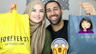 HUSBAND vs WIFE: Shopping for each other!