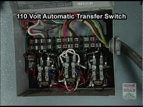 4 Wire Trailer Light Wiring Diagram Rv Maintenance 110 Volt Ac Automatic Transfer Switch