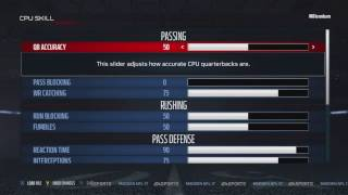 Madden 17 All Pro Sliders