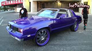 Candy Purple Oldsmobile Cutlass On 24 Asantis Pt1 1080p Hd Free