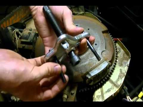 For John Deere 1050 Tractor Wiring Diagram Small Engine Repair How To Remove A Flywheel From A