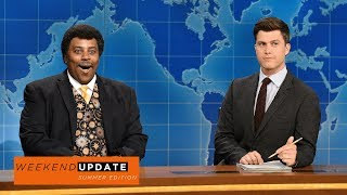 Weekend Update: Neil deGrasse Tyson on the Solar Eclipse - SNL