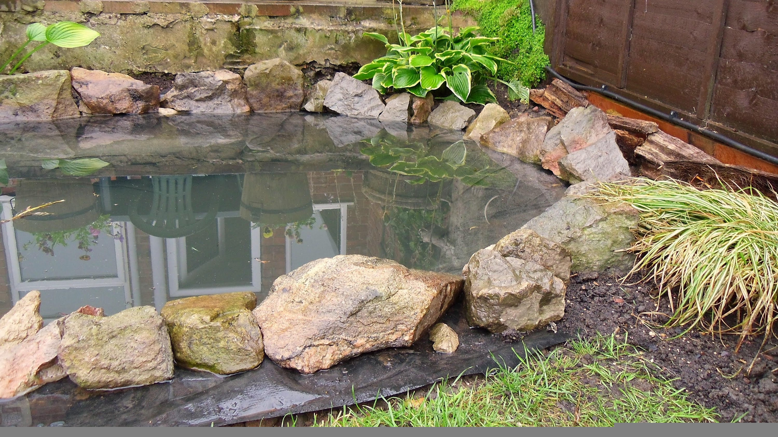 How to Build a Garden Pond DIY Project  YouTube