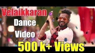 Velaikkaran - Karuthavanlaam Galeejaam Dance | Sivakarthikeyan | Anirudh | David Boon Choreo