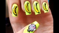 Easy monkey nail art! - YouTube