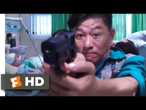 Three (2017) - Hospital Shootout Scene (8/10) | Movieclips