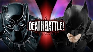 Black Panther VS Batman (Marvel VS DC) | DEATH BATTLE!
