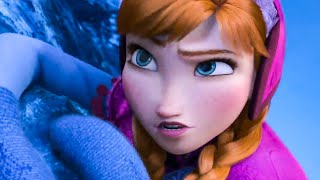 FROZEN - Anna at Elsa's Snow Palace Scene (2013) Movie Clip