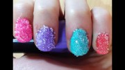sugar nail art design - easy