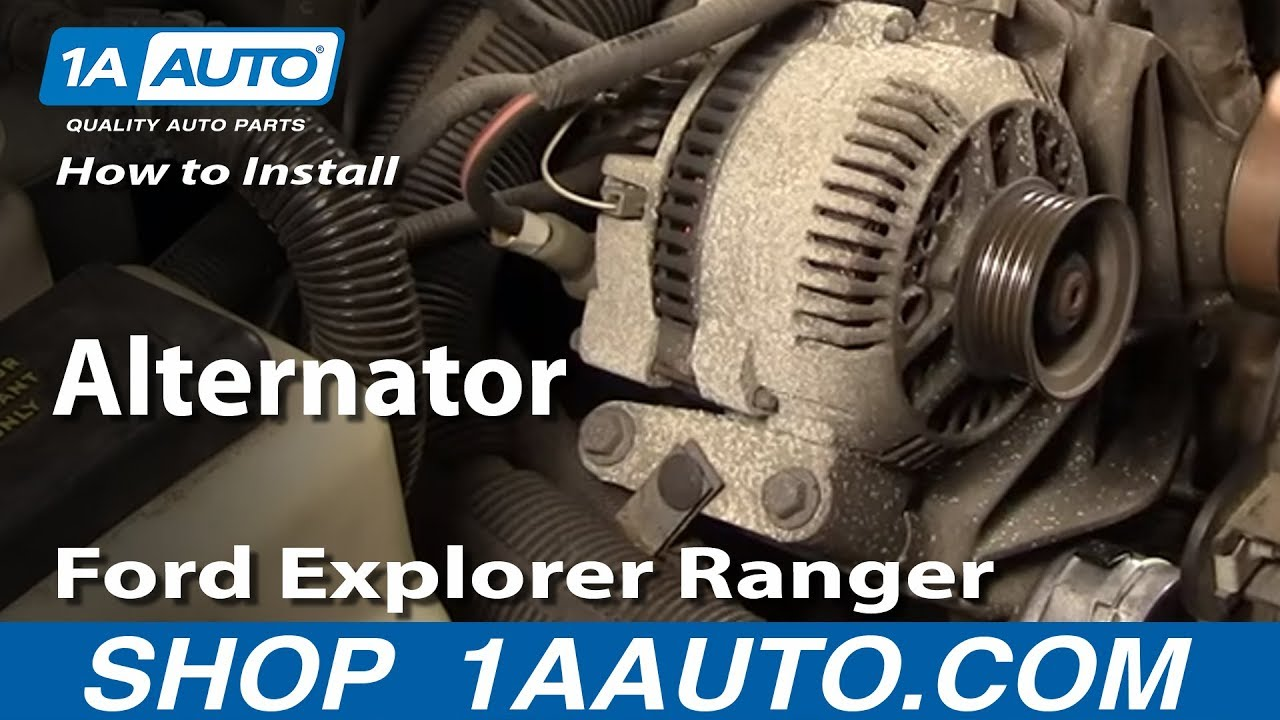 1997 Mazda B4000 Fuse Diagram How To Install Replace Alternator Ford Explorer Ranger