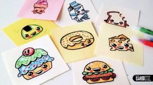 kawaii drawings draw drawing easy animal foods doodle things getdrawings dibujar sencillos comida bonita dibujos tutorial