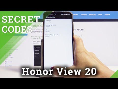 Secret Codes for Honor View 20 – Hidden Menu / Testing Menu