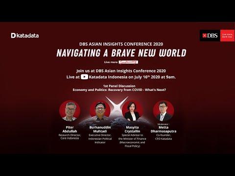 DBS Asian Insights Conference 2020: Navigating a Brave New World - Katadata
