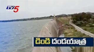 Dindi Project Water Disputes | Fight Between Nalgonda and Nagarkurnool Farmers | TV5 News
