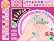 manicure nails salon games
