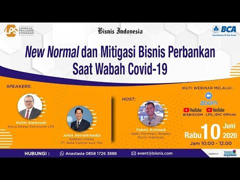 """Webinar Perbankan """"New Normal dan Mitigasi Bisnis Perbankan saat Wabah Covid-19"""""""