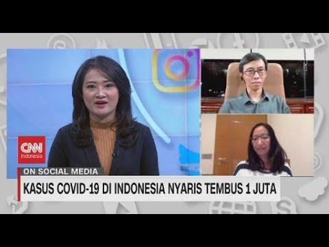 Kasus Covid-19 di Indonesia Nyaris Tembus 1 Juta