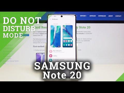 How to Change Wallpaper in SAMSUNG Galaxy Note 20 - Desktop Update