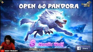 Huahahahahah !!! Open 60 Pandora !!! Dragon nest M - Nordic wolf