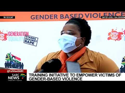 Social Development Department training initiative empowers victims of Gender-Based Violence