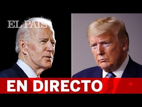 DIRECTO #ELECCIONESEEUU   DEBATE presidencial entre BIDEN y TRUMP