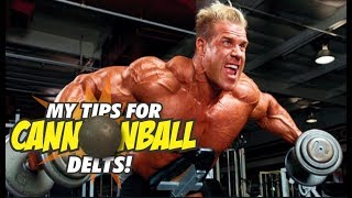 JAY CUTLER MY BEST TIPS FOR CANNONBALL DELTS (IN DETAIL)