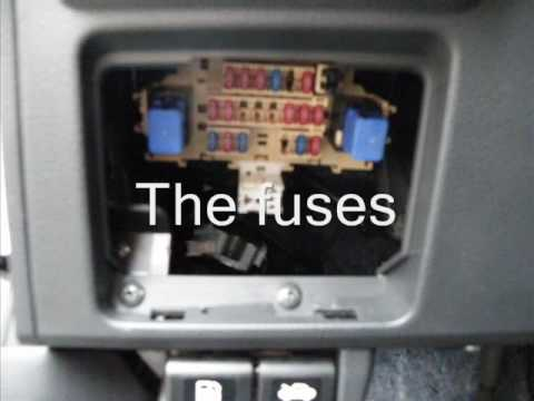 2003 Infiniti Fuse Box Diagram Week 14 Where Are The Fuses In My Nissan Versa Youtube