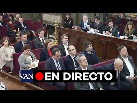 [EN DIRECTO] Juicio al 'procés' de Catalunya