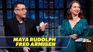 Maya Rudolph Reveals the Bet Seth Made About Paris Hilton