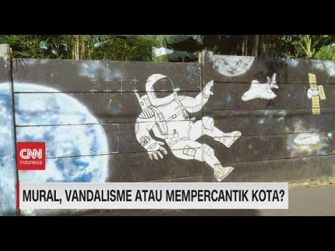 Mural, Vandalisme Atau Mempercantik Kota?