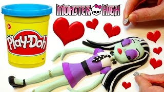 Monster High Doll Frankie Stein PLAY DOH BEST STOP MOTION Dolls