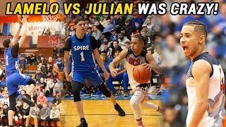 LaMelo Ball vs Julian Newman Got CRAZY!!! LaMelo Gets TRIPLE DOUBLE In BIG DUB 🔥